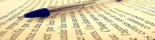 Des écrits sans faute d'orthographe ou typographique