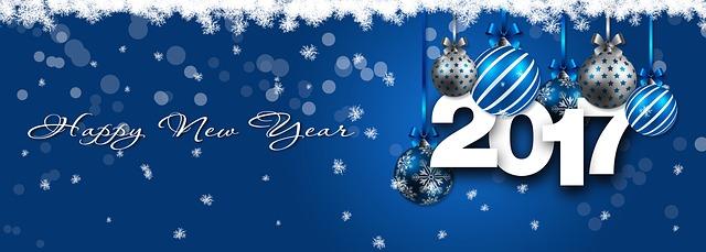 voeux pour la nouvelle année 2017